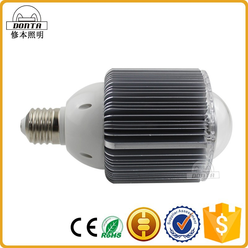 Newest Patent Design fin housing 50w led bulb e40