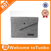 Felted wool laptop bag sleeve case wholesale bag for tablet pc