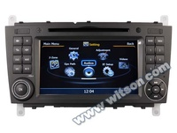 WITSON car stereo for MERCEDES-BENZ C class W203(2004-2007) WITH A8 CHIPSET DUAL CORE 1080P V-20 DISC WIFI
