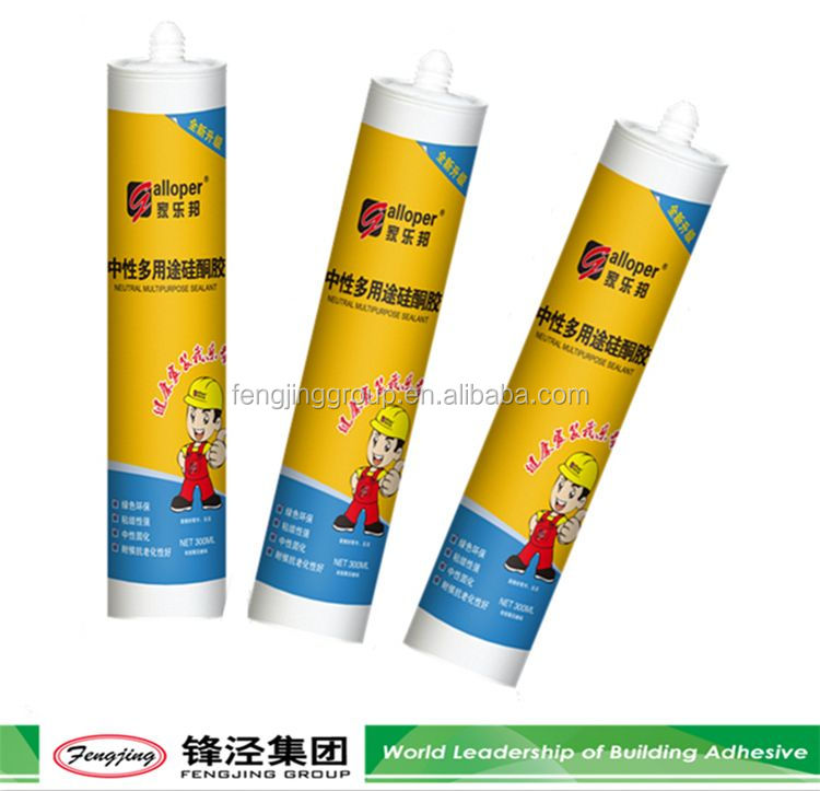 New Arrival 310ml clear car silicone sealant manufacturer sale