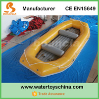 Whitewater Rafting Boats / Inflatable River Boat With Durable PVC Tarpaulin