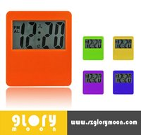 JUMBO LCD DISPLAY DIGITAL WALL CLOCK WITH BIG SIZE LOGO