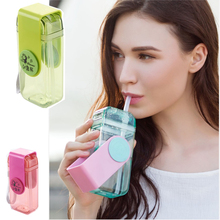 2017 new design boxing water bottle, plastic portable water bottle