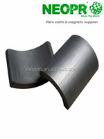 Arc Hard Ferrite Magnets for Starter Motor of Motorcycles