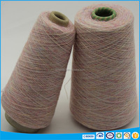 High quality cotton ramie and polyester melange yarn