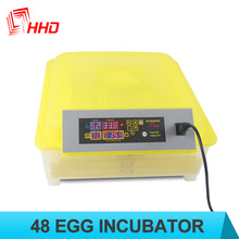 98% hatching rate CE approved 48 eggs automatic mini egg incubator for pheasant eggs