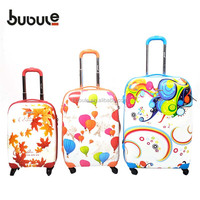 Colorful impact PC PP trolley case luggage handle parts