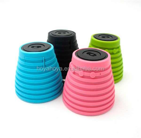 New suction Cup Wireless Bluetooth Speaker