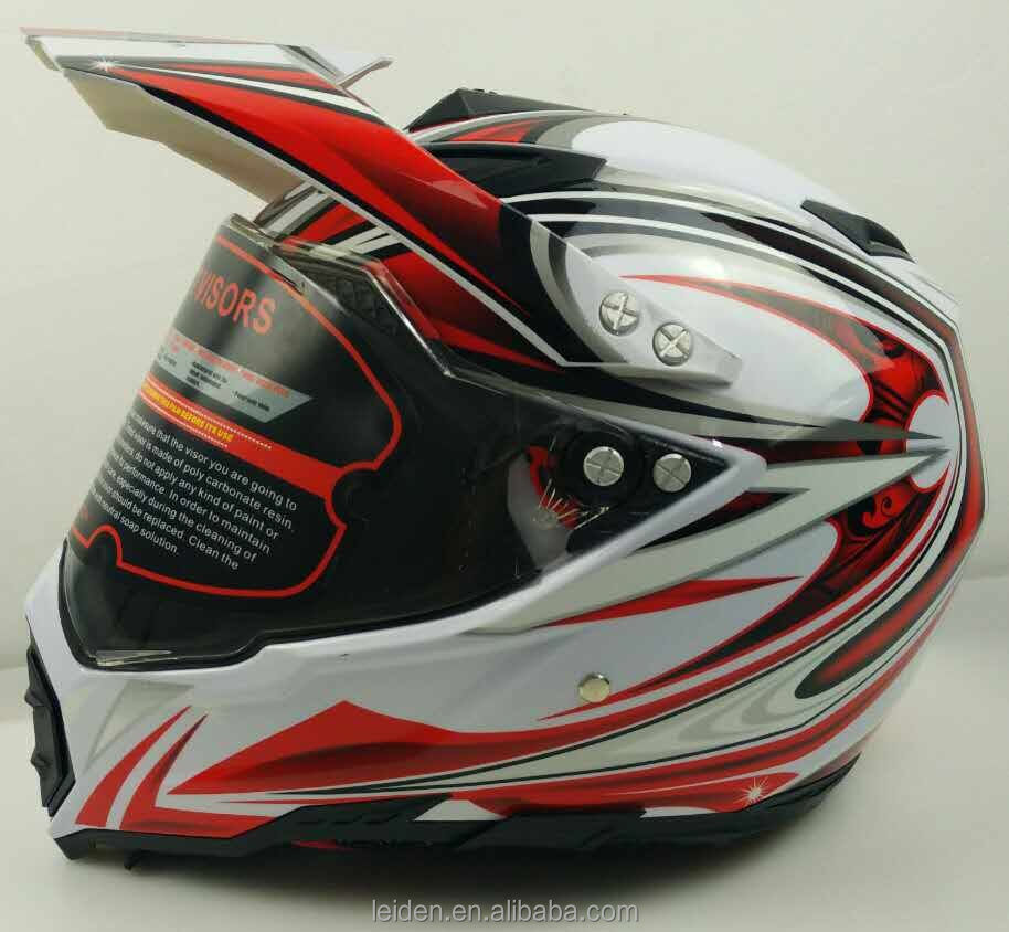 Motocicleta casco FULL FACE MOTOCROSS HELMET NEW DESIGN MOTORCYCLE OFF ROAD HELMET