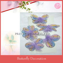 Glitter Butterfly mobile set wall hanging decoration