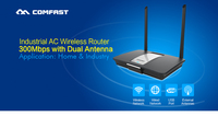 COMFAST CF-WR610N 300Mbps QCA9531 Copper Fitting WIFI Router with cat5 Made in China