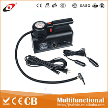 DC12V Double cylinder car air compressor /AC 220V-230V car tire inflator with lightsor electric micro pump tire inflator tire
