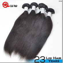 Factory wholeseale 100% human hair one donor chinese virgin hair