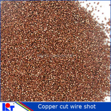 hot SALE Copper Cut Wire Shot with ISO SAE for sand blasting room