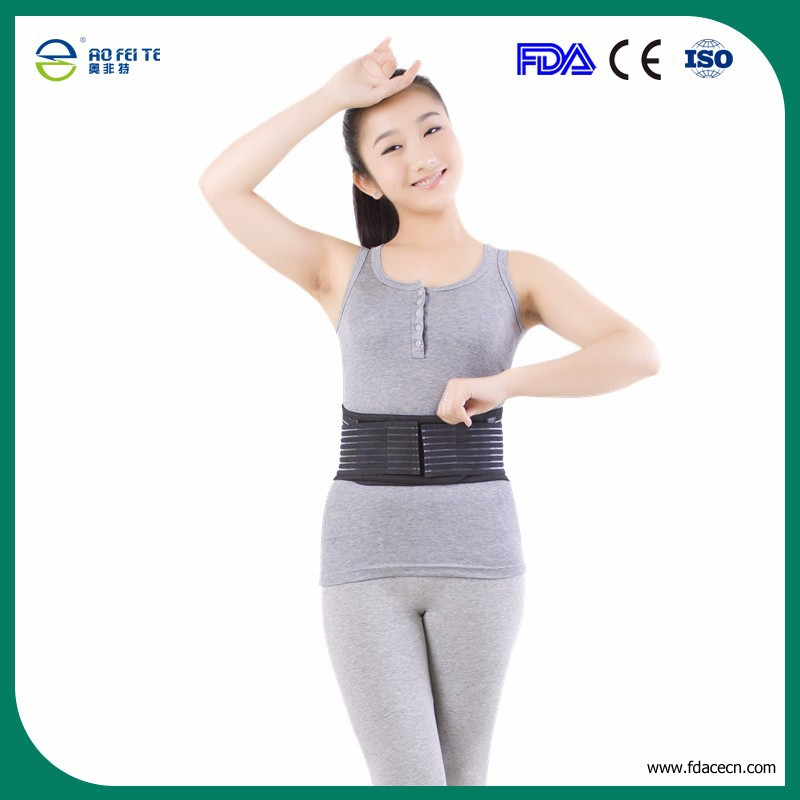 Tourmaline auto-heating magnetic waist support FDA and CE certificate