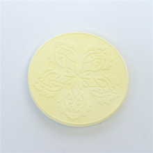 Factory direct sale round shape different color diatom ooze cup coaster