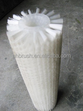 nylon cleaning brush roll/industrial round brushes