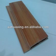 Beautiful decorative wpc wall panel/cladding system/cladding wood composite