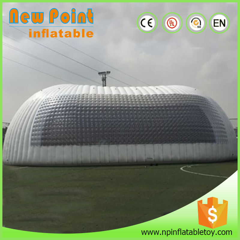 2017 new white high quality inflatable air dome tent for sale