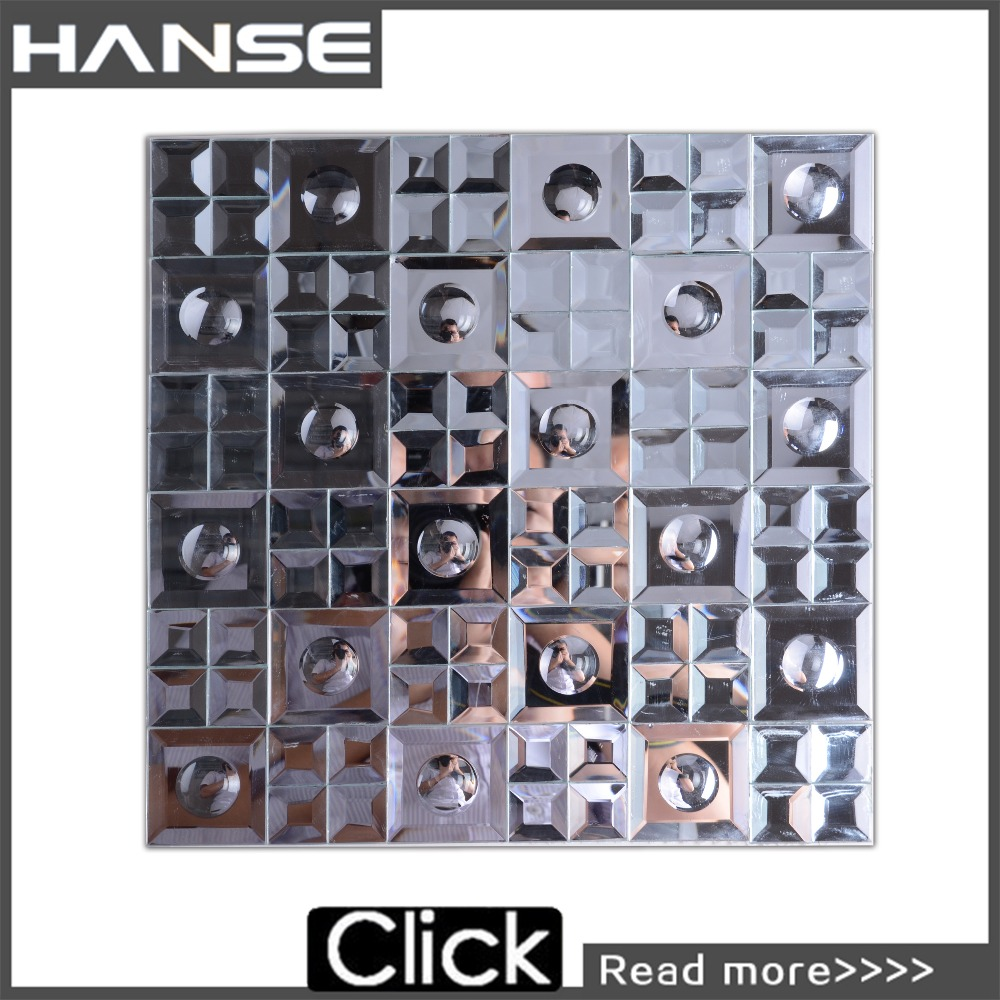 XF005 Foshan wholesale factory price of decorative mirror tile stickers