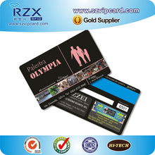 Brand/ store loyalty membership best rewards blank magnetic strip PVC card