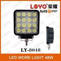 Brightest !!! 48W LED IP67 Work Light For Trailer Auto SUV /ATV Offroad Headlight 10-30V