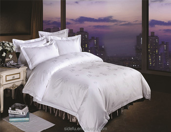 High Quality Custom 100 Cotton Hotel Luxury Bedding