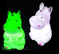 OEM children night light hippo night light color changing led night light home Christmas decorations