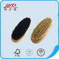 Manufacturer oval shoe brush set, boar bristle boots cleaner made in china