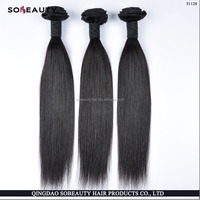 best selling double weft unprocessed original indian hair company