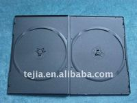 PP 5mm double black dvd case with glossy sleeve