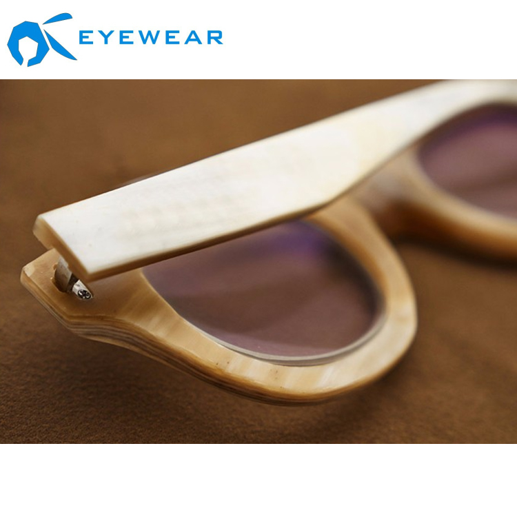 Natural Buffalo Horn Eyeglasses Frames High Quality Ce Optical Glasses