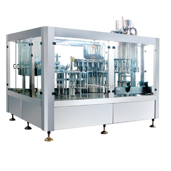 Beer Bottle filling and capping machine