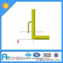 reflective Barrier construction safety barricade with name plate crash barrier
