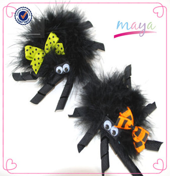 Halloween Hair clips novelty spider halloween hair accessories