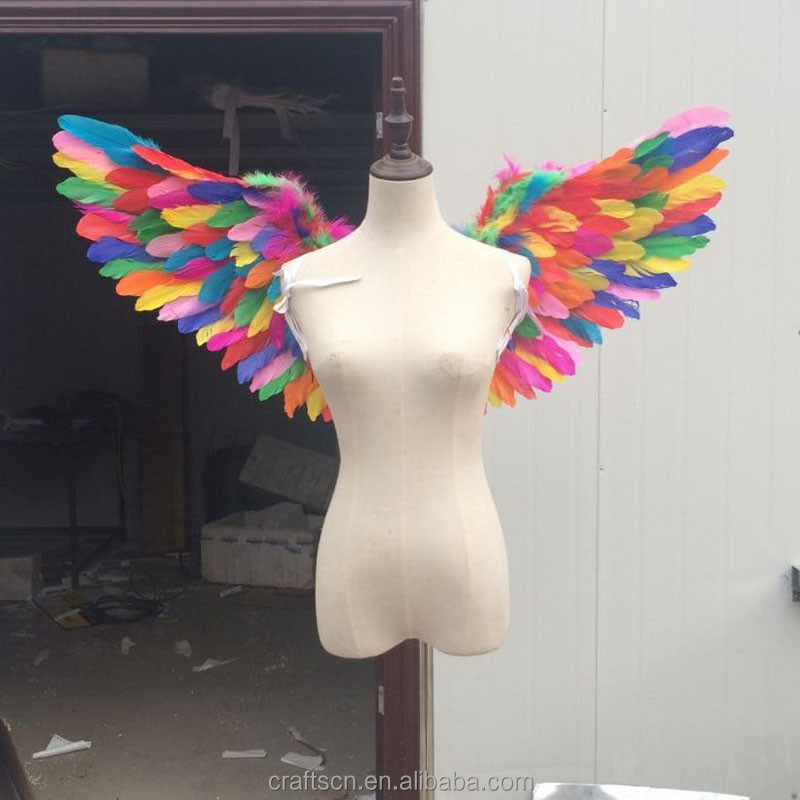 Handmade Large Feather Angel Wings for Party