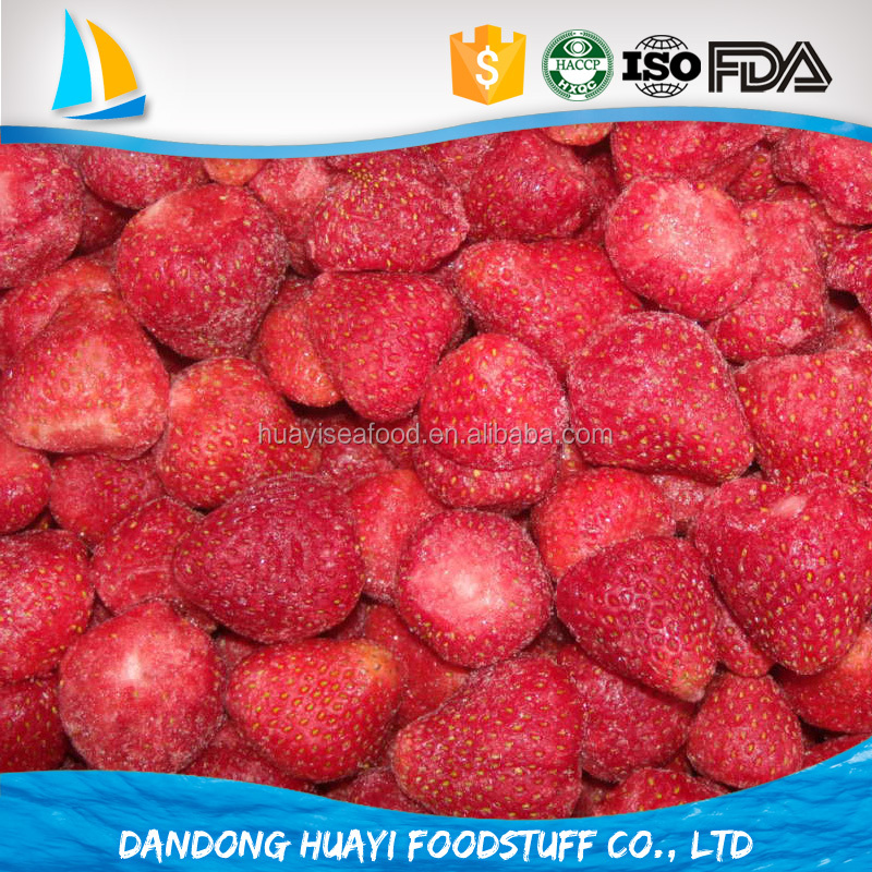 hot selling bulk frozen strawberries