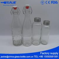 USA Market Empty Glass glass lined water bottle