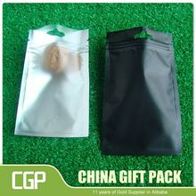 Import china products Simple Design aluminum foil golden packaging bag