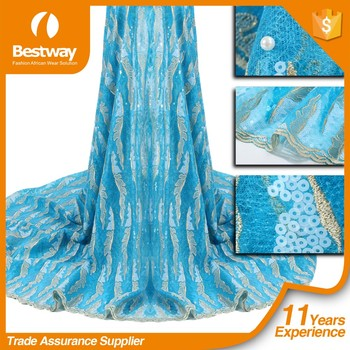 Nice Looking Bestway Hot Selling French Net Lace FL0147-1