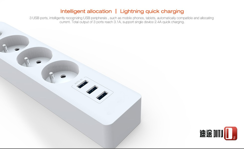 CE Approval 4 way electric plug socket nox ,4 gnag extension socket ,plug receptacle with wire