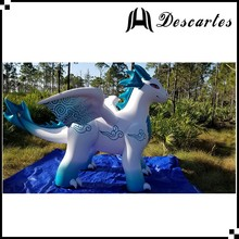 Kids play PVC large inflatable zenith dragon animal for outdoor advertising