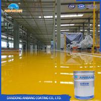 Oil resistance good filling capacity floor intermediate painting