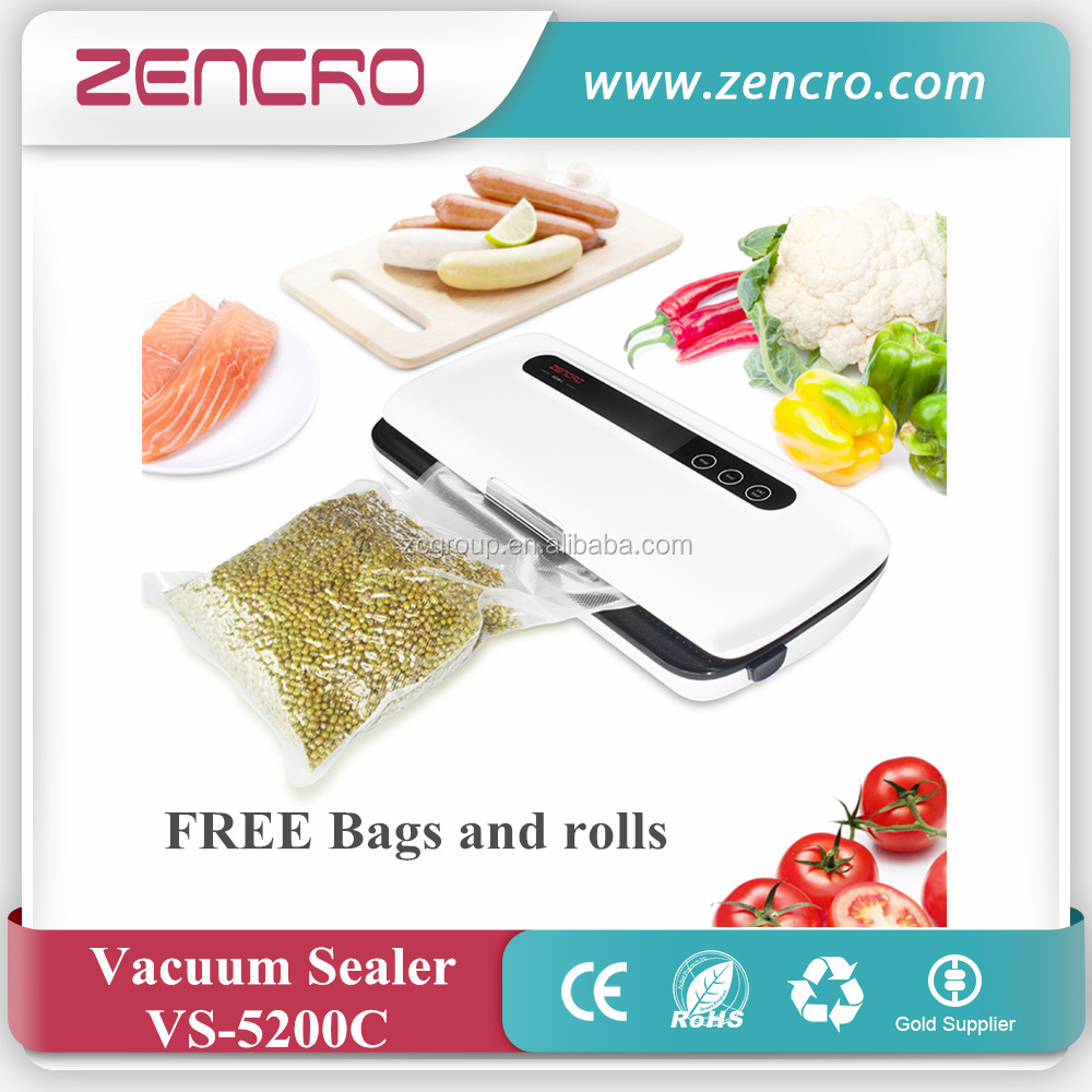 Household vacuum sealer, vacuum sealer machine, Portable bags packing food saver food vacuum sealer