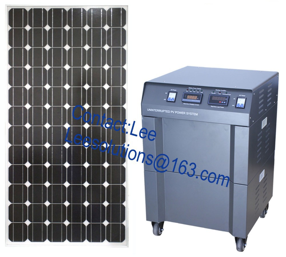 3KW off grid solar generator for home