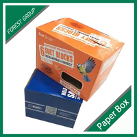 New product handmade corrugated cardboard boxes for packaging OEM
