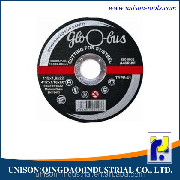 Top quality cutting discs for stainless steel