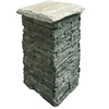 China Local Natural Slate Stone Cement Column/Pillar (SMC-PC006)