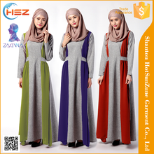 Zakiyyah 041 Casual types for malaysia model baju kurung fashion islamic velvet dresses for women model baju kurung modern