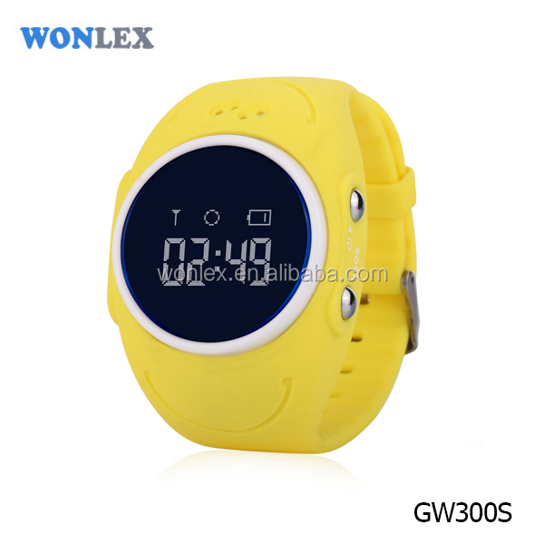Wonlex Building green and safe quality GW300S Q520S IP67 waterproof Kids GPS Smart Watch